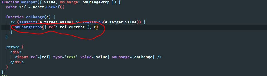 swapped parameter positioning in javascript react event handlers