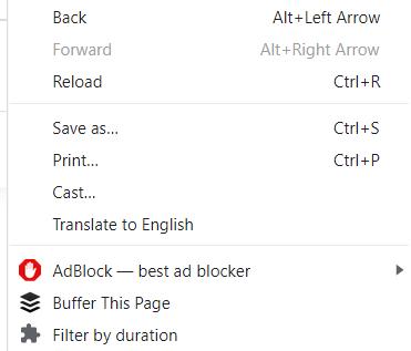 react chrome extension context menu on installation