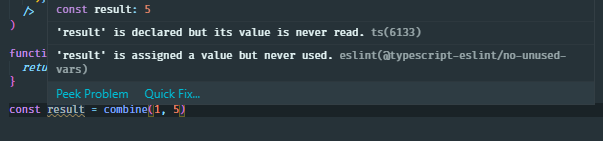typescript generic type infer return value